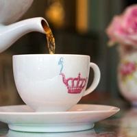 Tea Sparrow tea cup