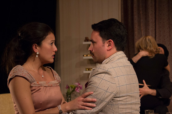 Yoshie Bancroft, Brent Hirose; photo by Crystal Cook