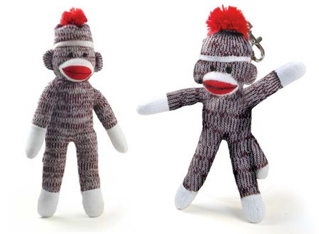 Leukemia and Lymphoma Society sock monkeys