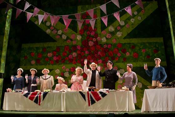 Albert Herring May Day party photo by David Cooper