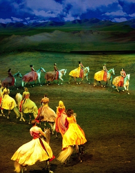 Grand Cavalia II; photo by Francois Bergeron