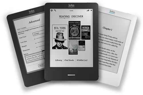 Kobo readers