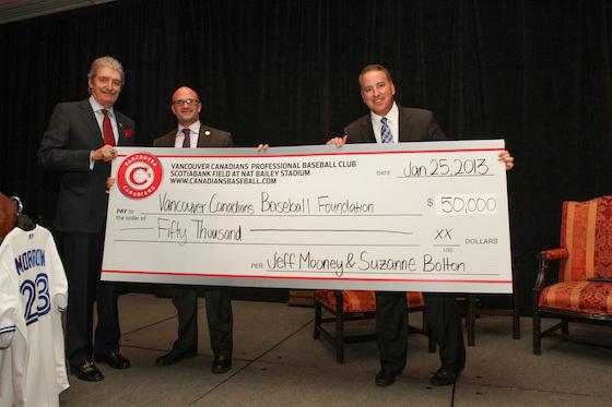 Mooney donates 50K to Foundation