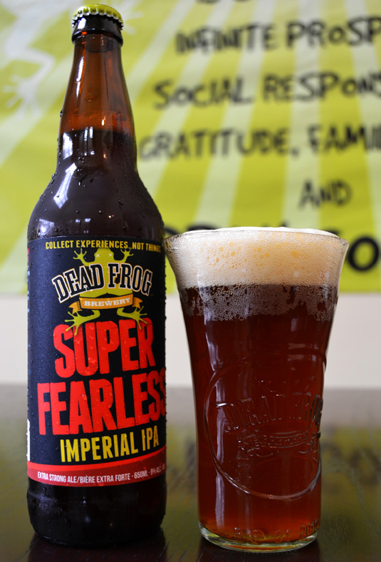 Dead Frog Brewery Super Fearless IPA