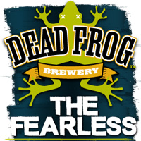 Dead Frog Brewery The Fearless IPA label