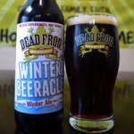 Winter Brew: Dead Frog Brewing's Winter Beeracle Winter Ale