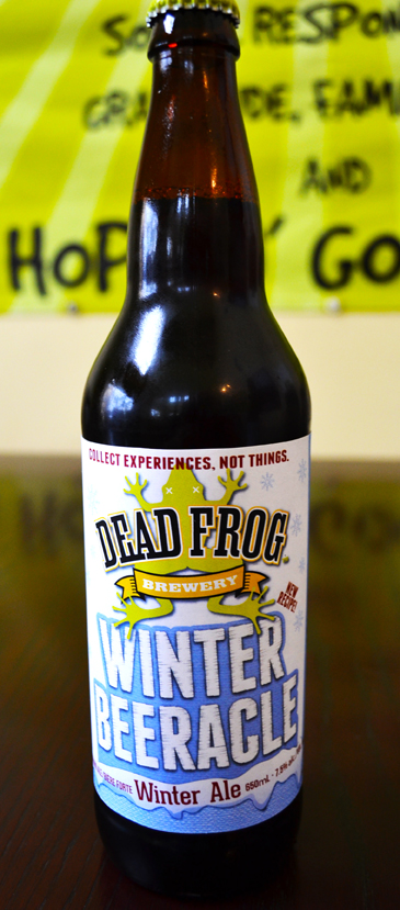 Dead Frog Winter Beeracle