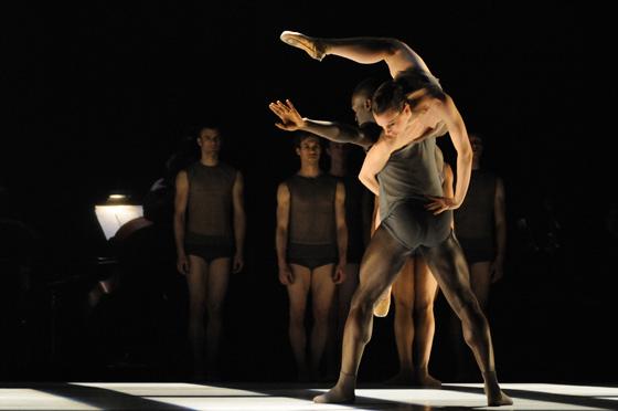 In Motion Ballet BC Dancers Alexis Fletcher Gilbert; photo by Michael Slobodian