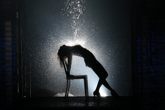 Jillian Mueller as Alex Owens in Flashdance - The Musical