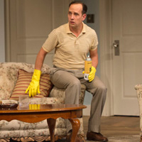 Robert Moloney in Arts Club's The Odd Couple