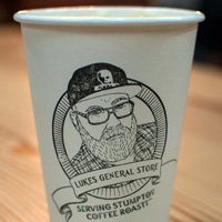 Luke's General Store Stumptown Coffee cup