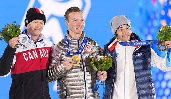 Mike Riddle takes silver in Ski Halfpipe