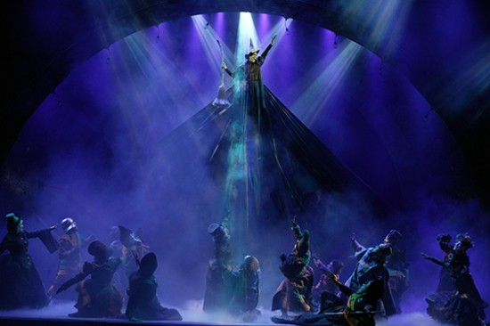 The Broadway musical Wicked