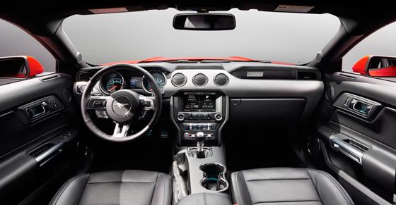 2015 Ford Mustang Interior