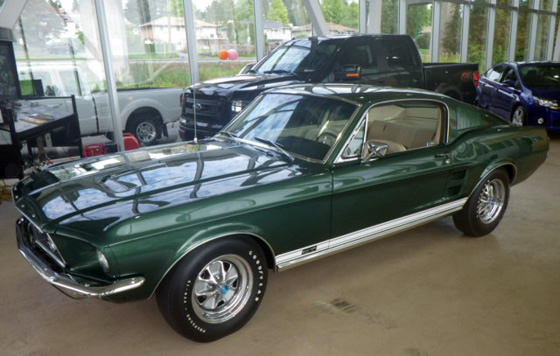 1967 Ford Mustang; photo courtesy of Coastal Ford