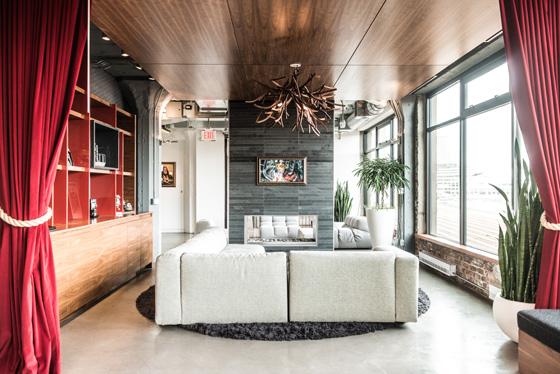 ILM Vancouver lounge