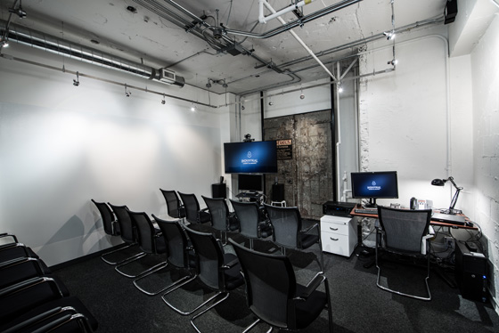 ILM Vancouver review room