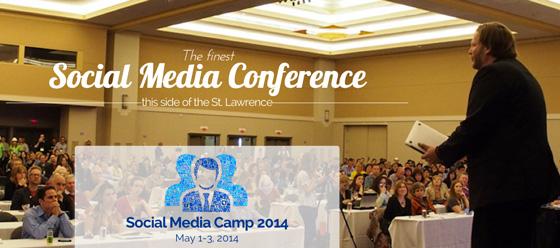 Social Media Camp banner
