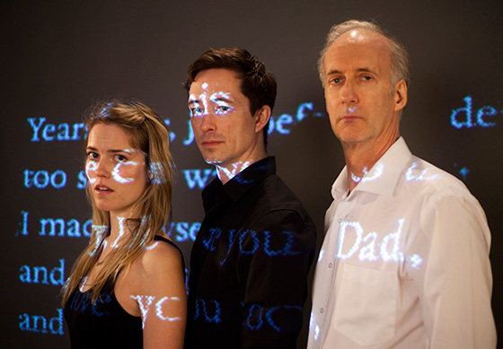Kaitlin Williams, Brahm Taylor,-Peter Anderson in Mother Tongue