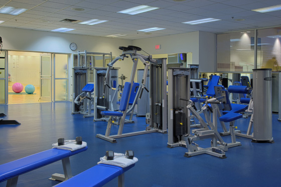 Athletic Club Weight Room