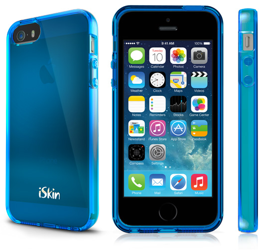 iSkin Claro in Electric Blue