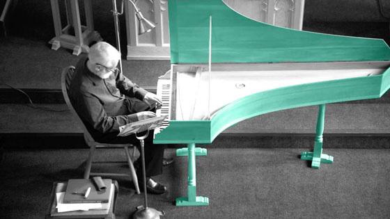Harpsichordist Colin Tilney