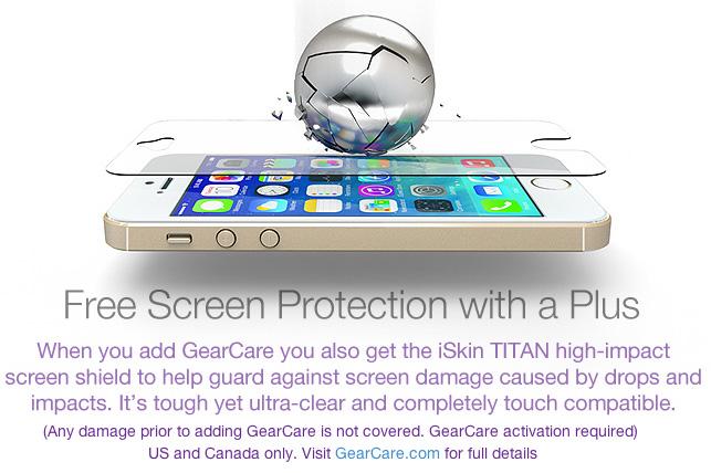 iSkin Gear Care warranty