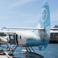 Harbour Air Seaplane at Vancouver Harbour