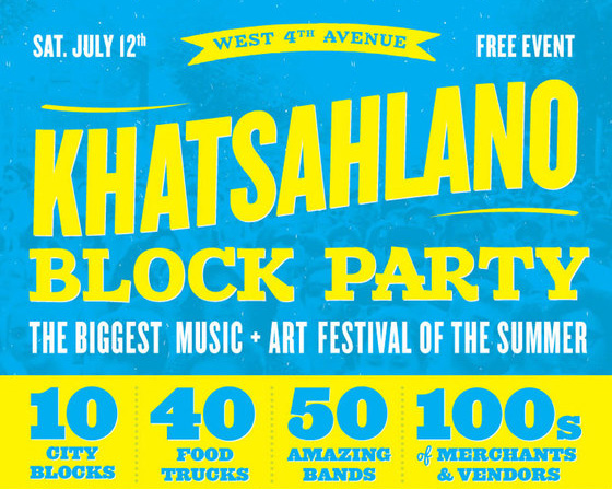West 4th Avenue Khatsahlano Block Party