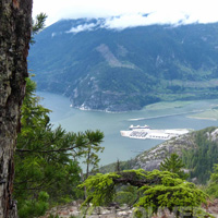 View from Sea to Sky Gondola, Squamish