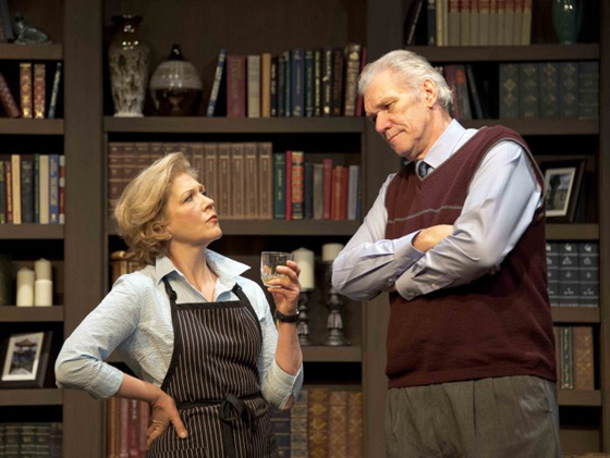 Patricia Vanstone, Norm Foster; photo by Pete Paterson