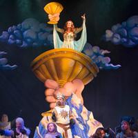 Spamalot cast photo detail; Arts Club Theatre, 2014