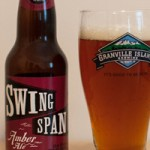 GIB at 30: Sampling Granville Island Brewing's Swing Span Amber Ale