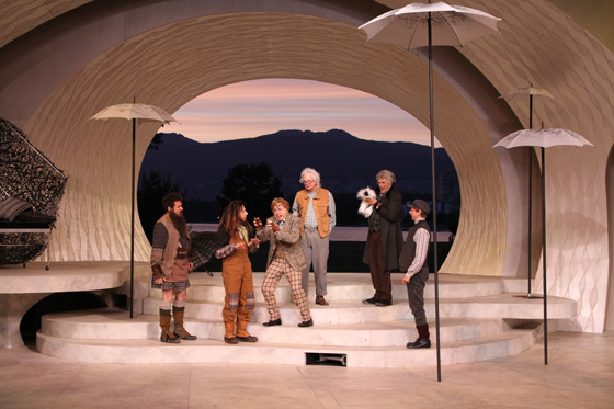 Bard on the Beach, A Midsummer Night's Dream, cast photo