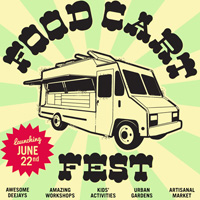 Vancouver Food Cart Fest poster