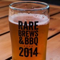 Rare Brews & BBQ glass