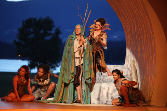 Bard on the Beach's The Tempest, cast photo