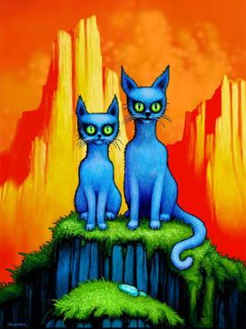Two Blue Cats, Jim Cummins