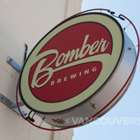 Bomber Brewery sign