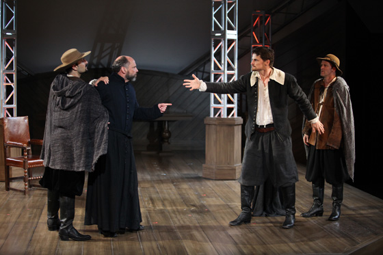 Equivocation cast