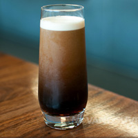 Stumptown cold brew coffee at Giovane Cafe