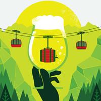 2014 Whistler Village Beer Festival poster