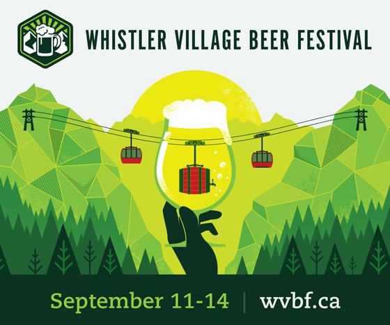 2014 Whistler Village Beer Festival poster