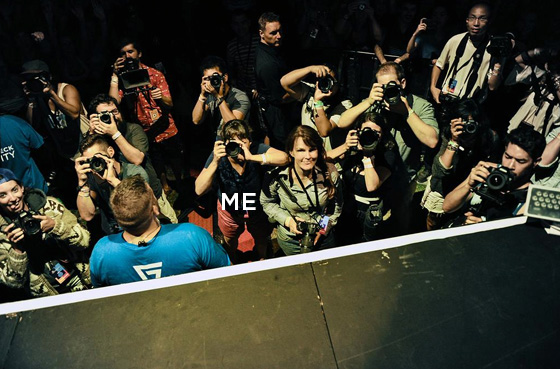 Arcade Fire photo pit