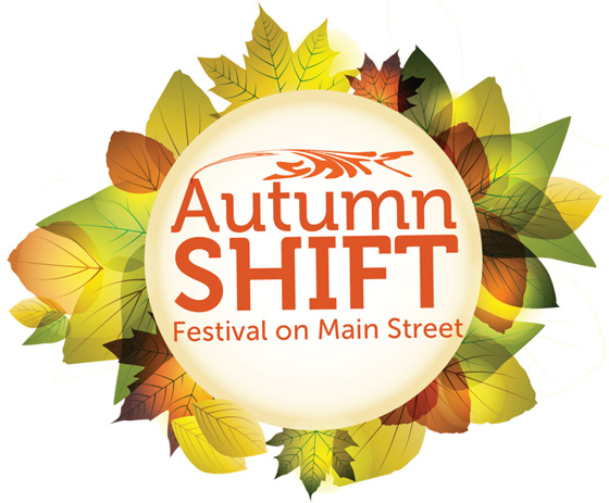 Autumn Shift Festival banner