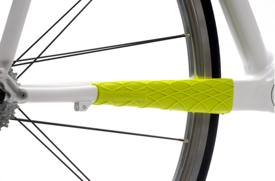 TwoWheelCool Wrapper Chainstay Neon