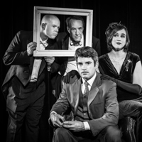The 39 Steps at Metro Theatre; cast photo