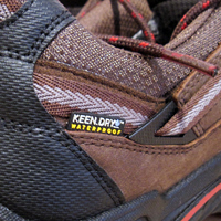 KEEN Durand hiking shoe detail