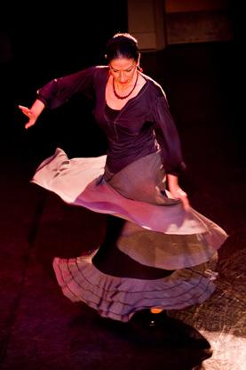 Rosario Ancer, Flamenco Rosario; photo by Tamara Mcgill