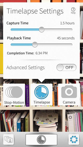 GorillaCam Timelapse settings